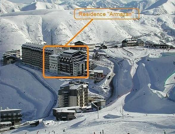 Plano del alojamiento - Apartamento en alquiler de temporada en Saint-Lary-Soulan - 325445293