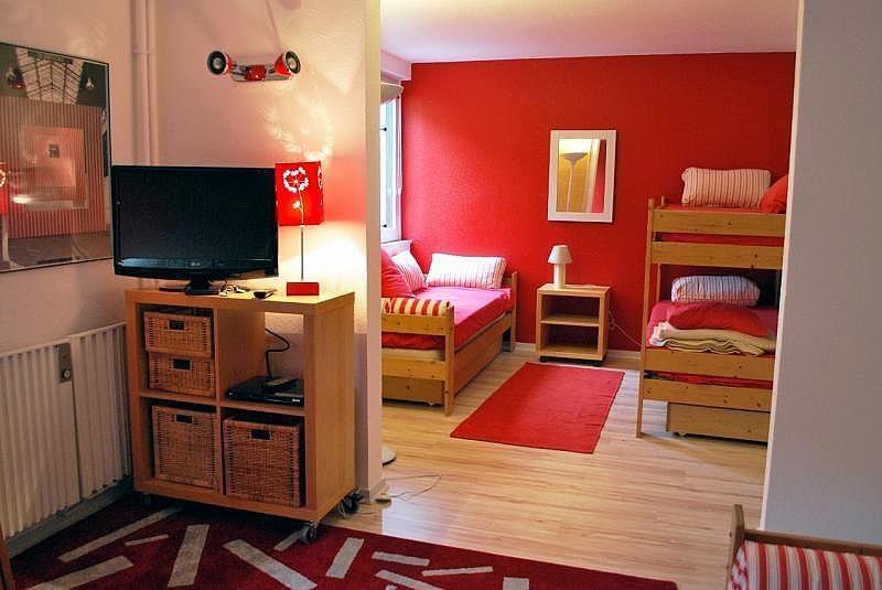 Sala de estar - Apartamento en alquiler de temporada en La Mongie - 261116803
