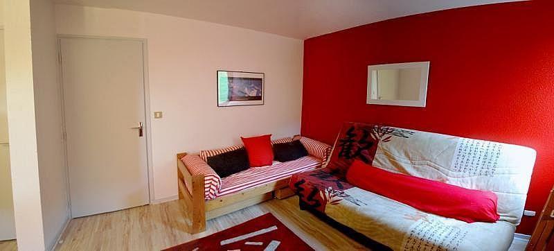 Sala de estar - Apartamento en alquiler de temporada en La Mongie - 261116806