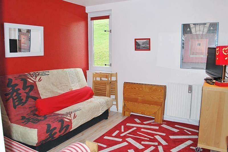 Sala de estar - Apartamento en alquiler de temporada en La Mongie - 261116809