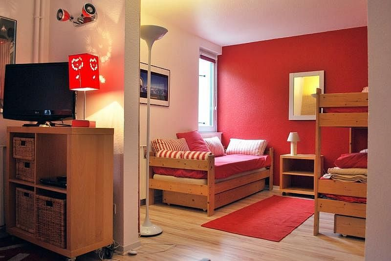 Dormitorio - Apartamento en alquiler de temporada en La Mongie - 261116815