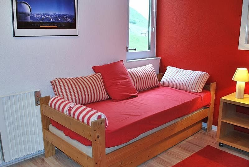 Dormitorio - Apartamento en alquiler de temporada en La Mongie - 261116821