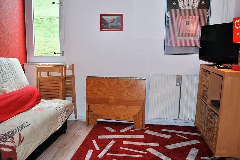 Sala de estar - Apartamento en alquiler de temporada en La Mongie - 261116824