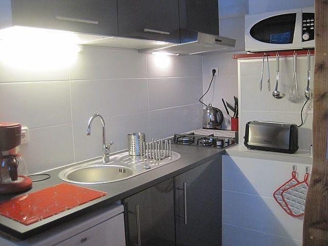 Kitchenette - Apartamento en alquiler de temporada en Saint-Lary-Soulan - 261116905