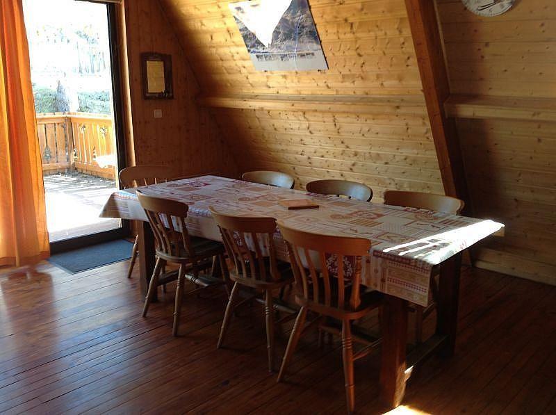 Comedor - Casa en alquiler de temporada en Les Angles - 259047341