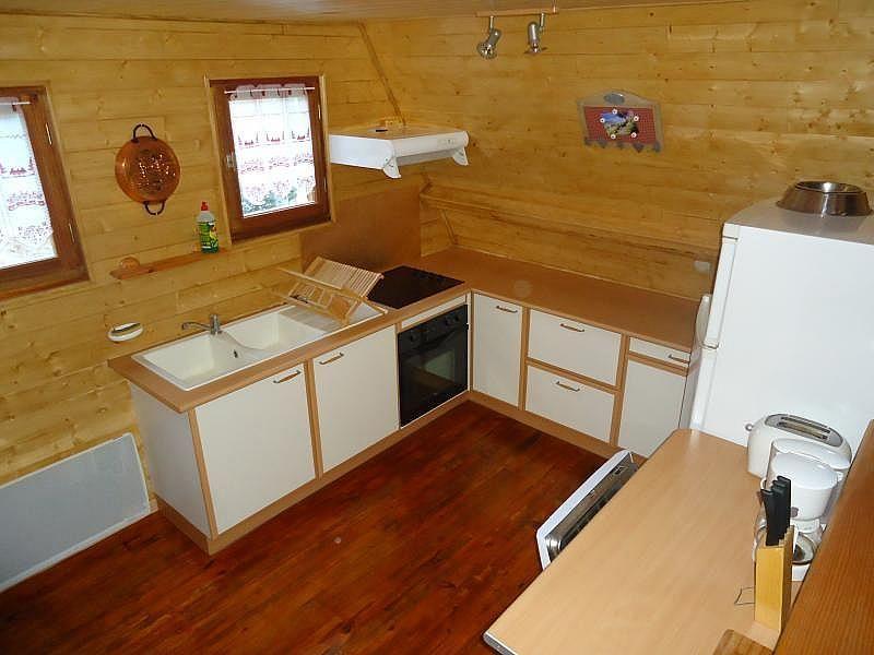 Cocina americana - Casa en alquiler de temporada en Les Angles - 259047344