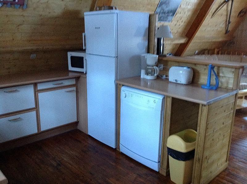 Cocina americana - Casa en alquiler de temporada en Les Angles - 259047347