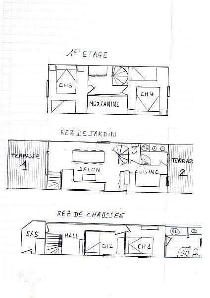 Plano del alojamiento - Casa en alquiler de temporada en Les Angles - 259047389