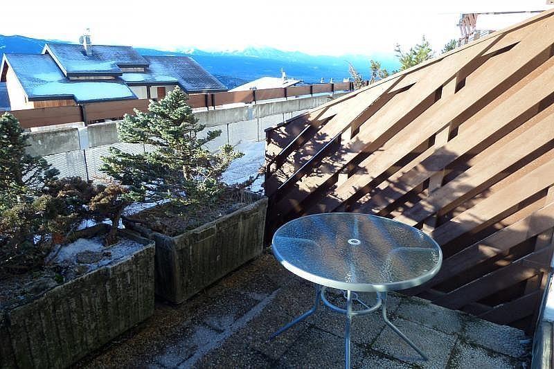 Terraza - Estudio en alquiler de temporada en Font-Romeu-Odeillo-Via - 263764162