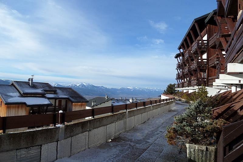 Vistas desde la terraza - Estudio en alquiler de temporada en Font-Romeu-Odeillo-Via - 263764171