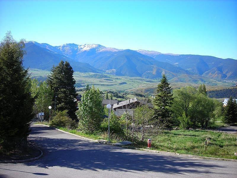 Vistas desde la terraza - Estudio en alquiler de temporada en Font-Romeu-Odeillo-Via - 263764177