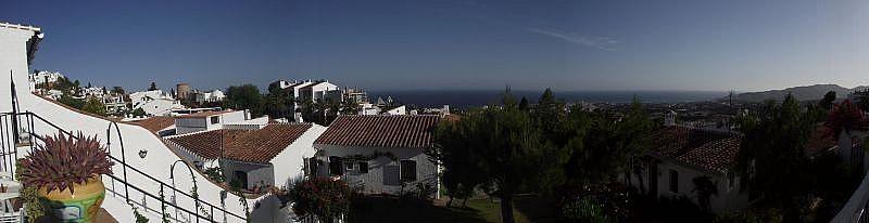 Vistas desde la terraza - Casa en alquiler de temporada en Nerja - 261111715