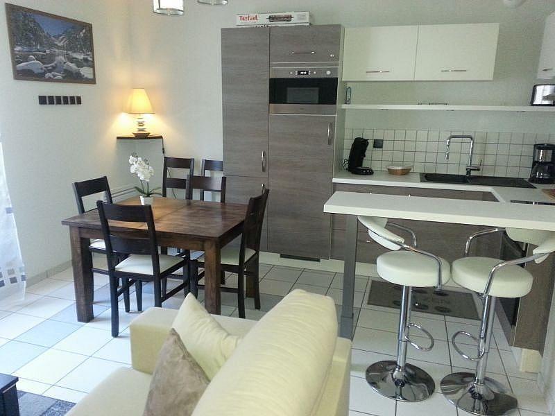 Cocina americana - Apartamento en alquiler de temporada en Cauterets - 261112075