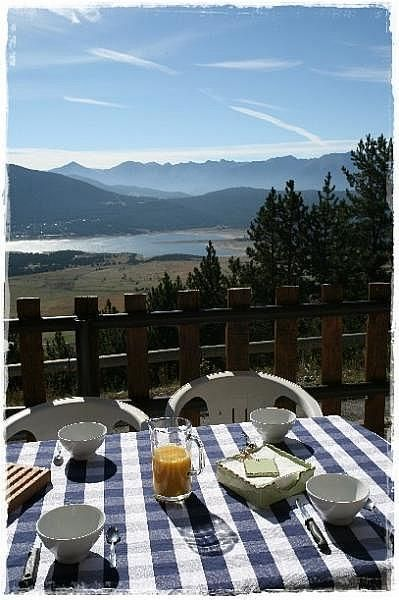 Vistas desde la terraza - Casa rural en alquiler de temporada en Les Angles - 343048085