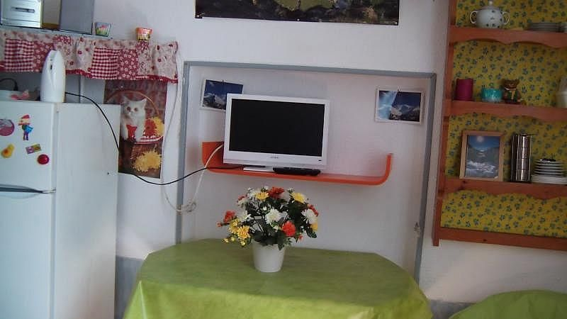 Sala de estar - Estudio en alquiler de temporada en Barèges - 306106929
