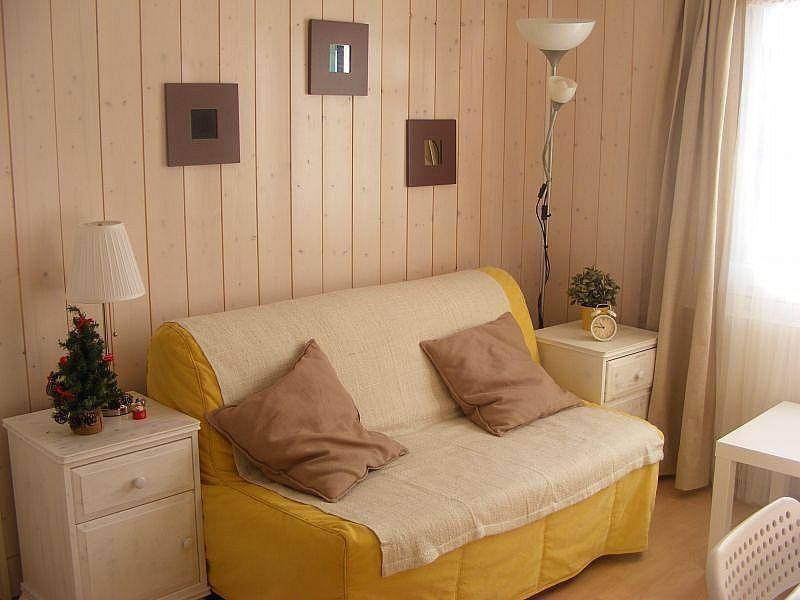 Sala de estar - Apartamento en alquiler de temporada en Bagnères-de-Luchon - 374010696
