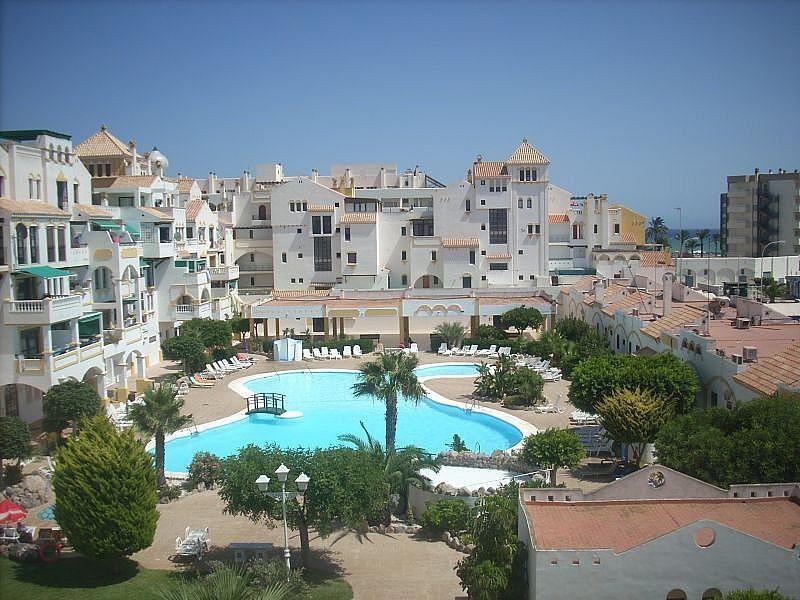 Piscina - Apartamento en alquiler de temporada en Roquetas de Mar - 389472013