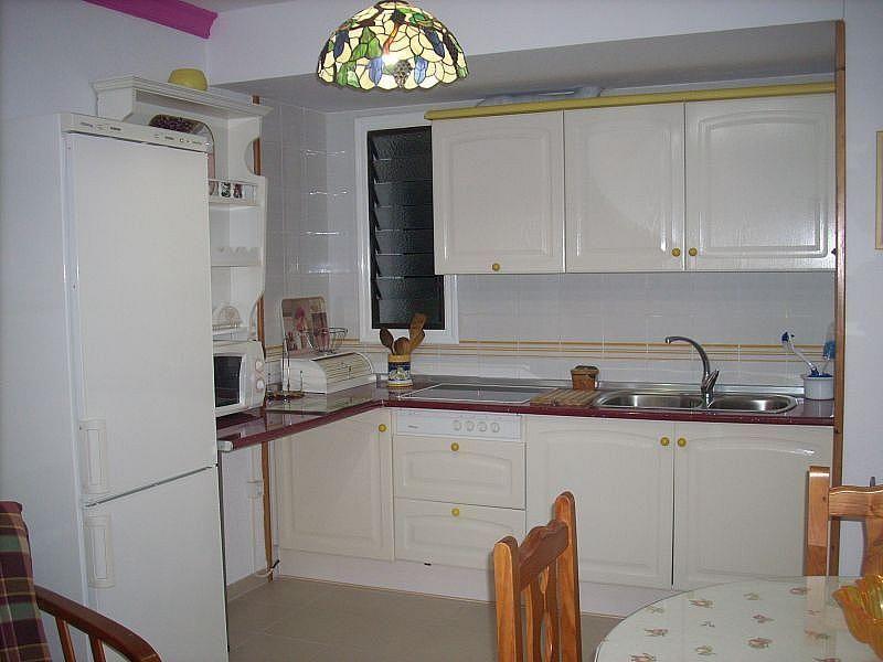 Cocina independiente - Apartamento en alquiler de temporada en Roquetas de Mar - 389472040