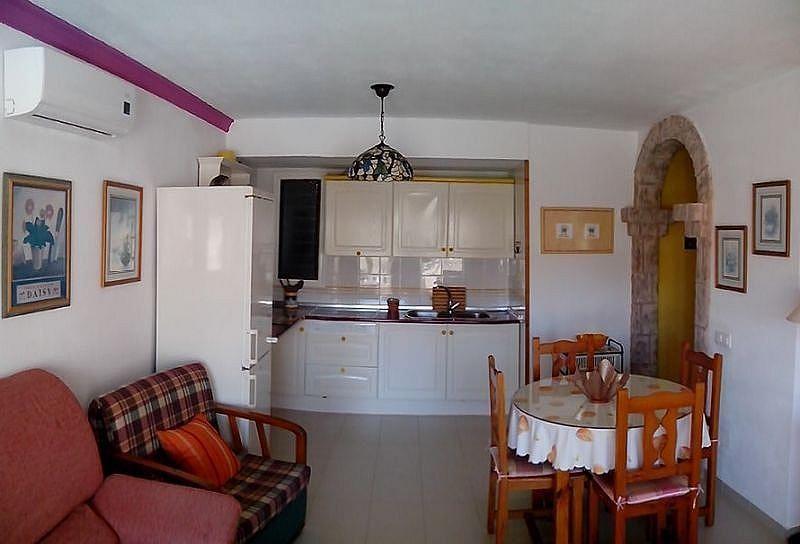 Cocina independiente - Apartamento en alquiler de temporada en Roquetas de Mar - 389472043