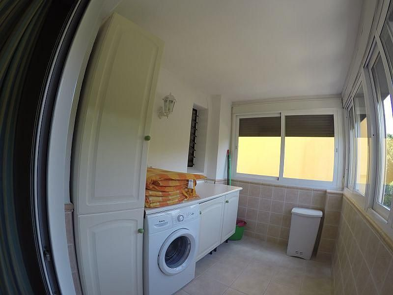 Terraza - Apartamento en alquiler de temporada en Roquetas de Mar - 389472064