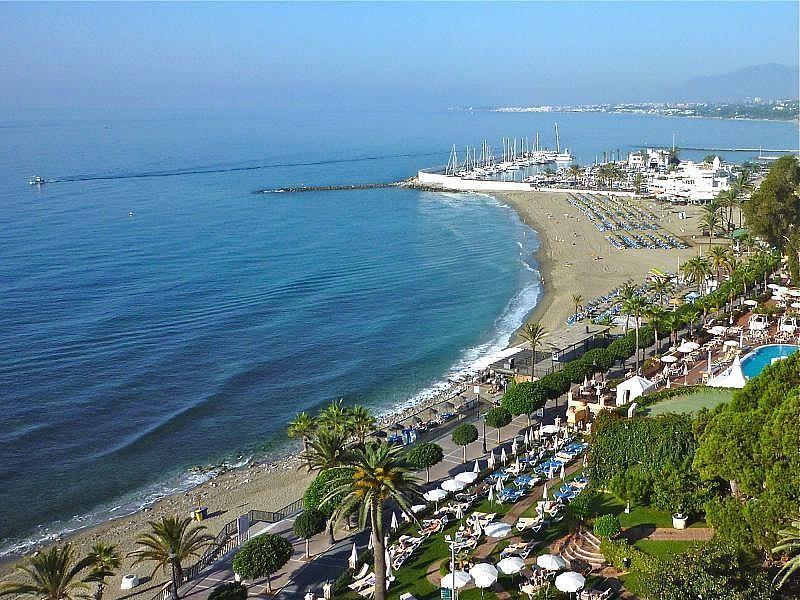 Vistas exteriores del alojamiento - Apartamento en alquiler de temporada en Nagüeles Alto en Marbella - 274956659