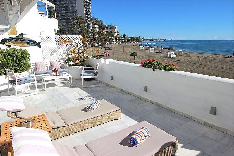Vistas desde la terraza - Apartamento en alquiler de temporada en Nagüeles Alto en Marbella - 360680505