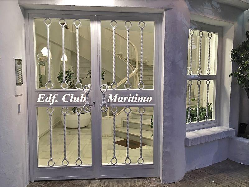 Entrada - Apartamento en alquiler de temporada en Nagüeles Alto en Marbella - 370557226
