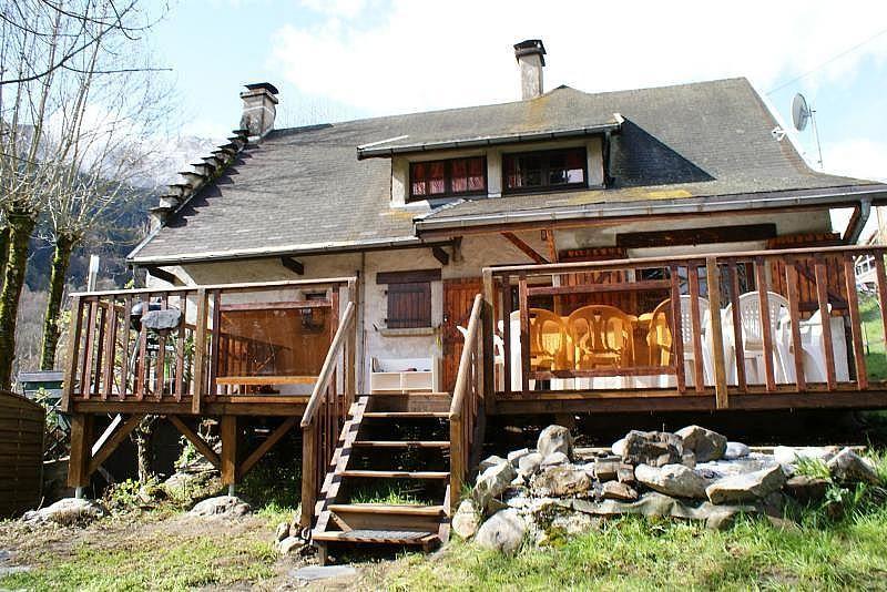Terraza - Casa en alquiler de temporada en La Mongie - 308581151