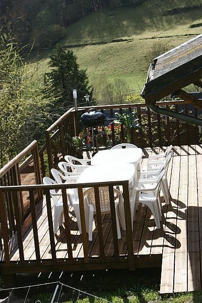 Terraza - Casa en alquiler de temporada en La Mongie - 308581154
