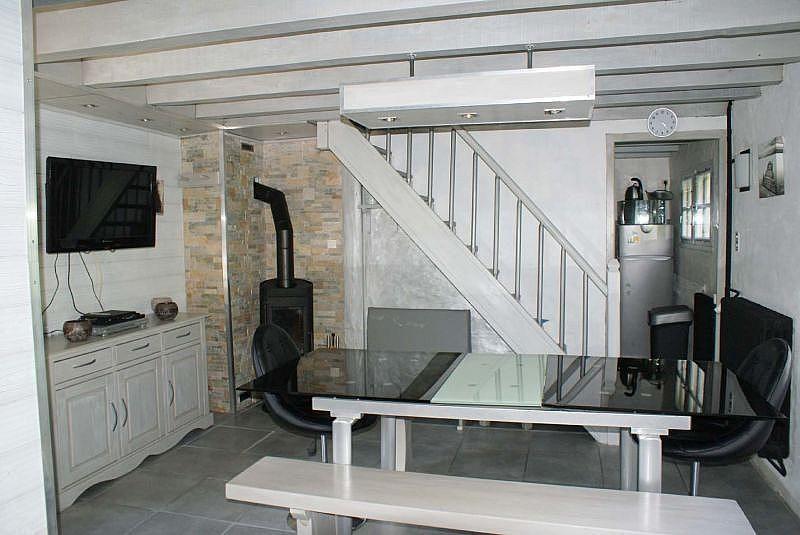 Sala de estar - Casa en alquiler de temporada en La Mongie - 308581163
