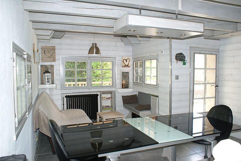 Sala de estar - Casa en alquiler de temporada en La Mongie - 308581166