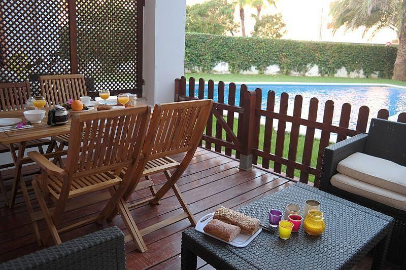 Terraza - Apartamento en alquiler de temporada en Ibiza/Eivissa - 261121084