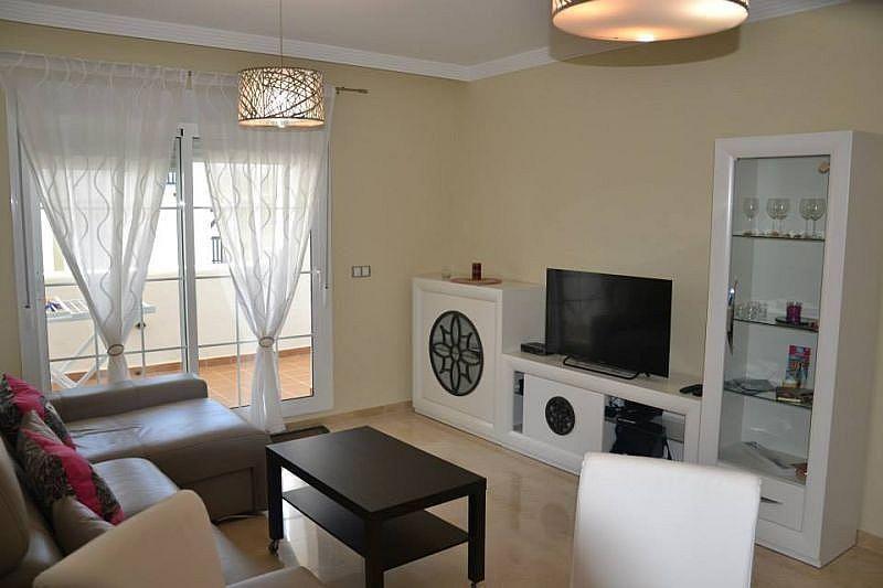 Salón - Apartamento en alquiler de temporada en Manilva - 284909101