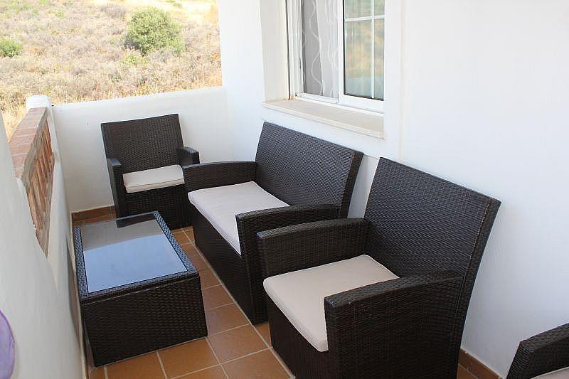 Terraza - Apartamento en alquiler de temporada en Manilva - 284909143