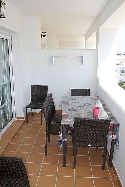Terraza - Apartamento en alquiler de temporada en Manilva - 284909152