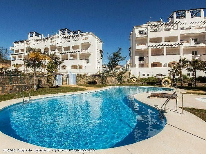 Piscina - Apartamento en alquiler de temporada en Manilva - 284909158