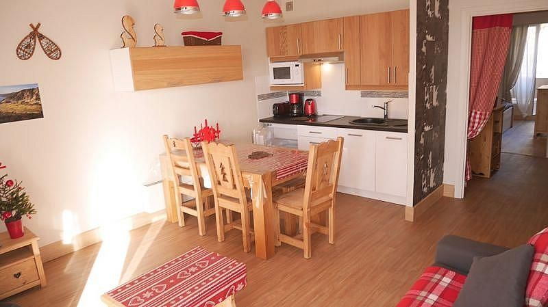 Kitchenette - Apartamento en alquiler de temporada en Font-Romeu-Odeillo-Via - 259053332