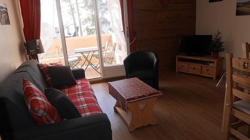Sala de estar - Apartamento en alquiler de temporada en Font-Romeu-Odeillo-Via - 259053335