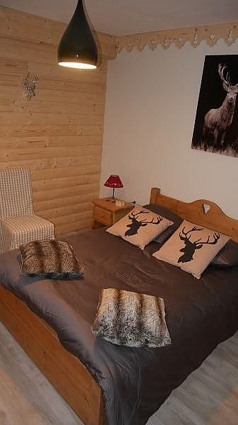Dormitorio - Apartamento en alquiler de temporada en Font-Romeu-Odeillo-Via - 259053344