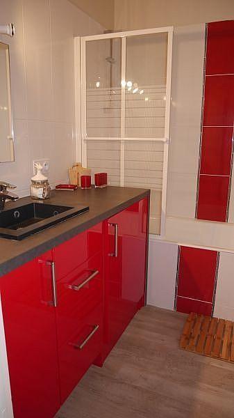Cuarto de baño - Apartamento en alquiler de temporada en Font-Romeu-Odeillo-Via - 259053350