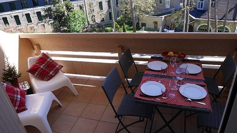 Terraza - Apartamento en alquiler de temporada en Font-Romeu-Odeillo-Via - 259053359