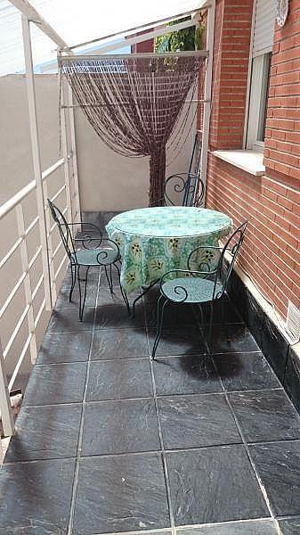 Terraza - Casa en alquiler de temporada en Toledo - 261117598