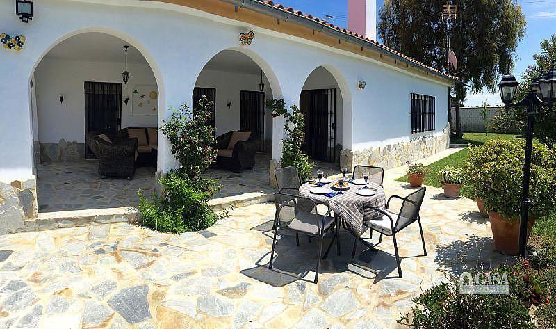 Terraza - Casa en alquiler de temporada en Conil de la Frontera - 387059246