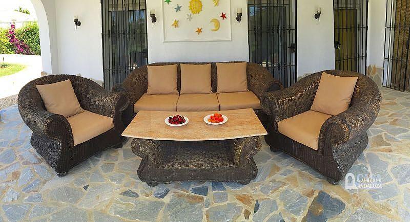 Veranda (Porche) - Casa en alquiler de temporada en Conil de la Frontera - 387059255
