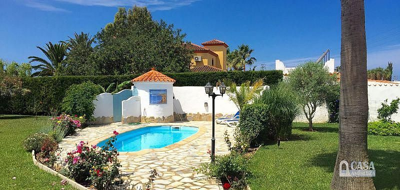 Piscina - Casa en alquiler de temporada en Conil de la Frontera - 387059258