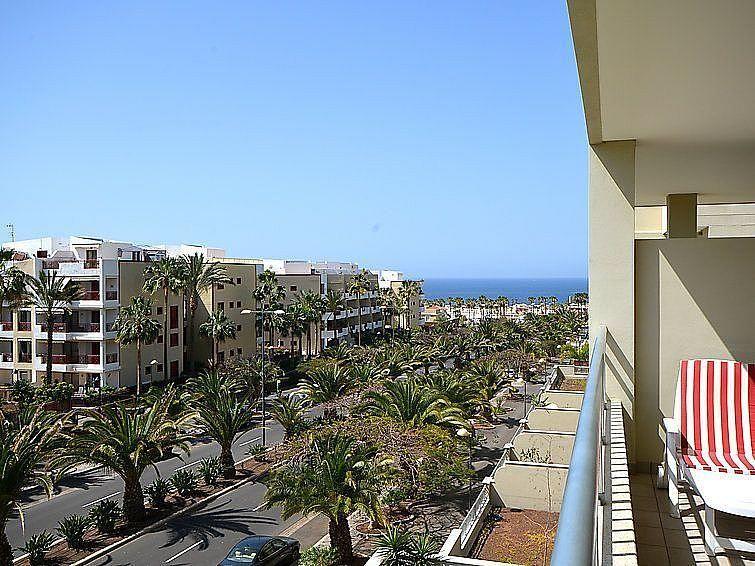 Vistas desde la terraza - Apartamento en alquiler de temporada en Playa de las Américas - 259056125