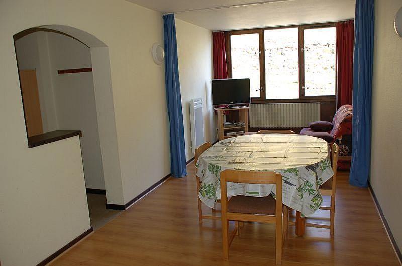 Sala de estar - Apartamento en alquiler de temporada en La Mongie - 261115729