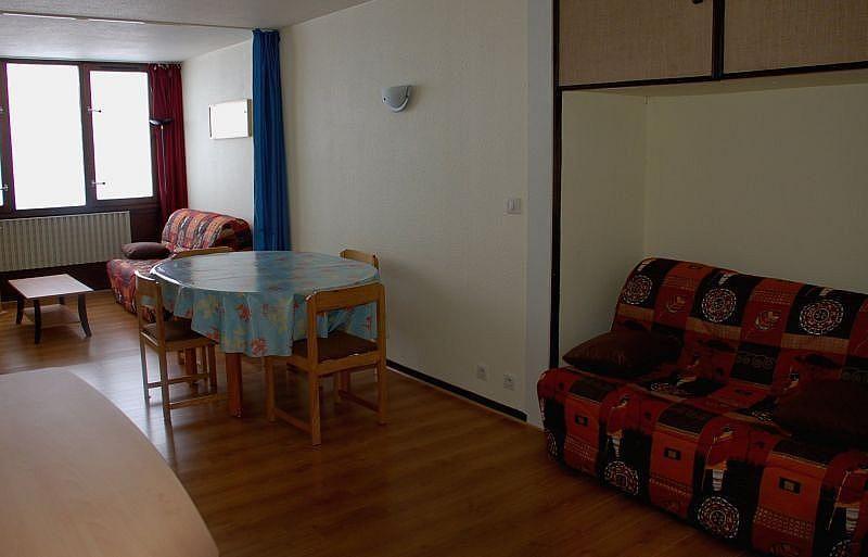 Sala de estar - Apartamento en alquiler de temporada en La Mongie - 261115741