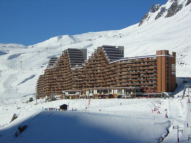Vistas exteriores del alojamiento - Apartamento en alquiler de temporada en La Mongie - 319066454
