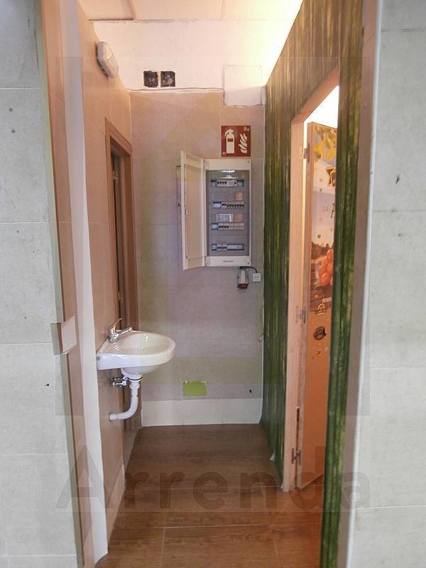 Baño - Local en alquiler en calle Sevilla, El Naranjo-La Serna en Fuenlabrada - 290336566